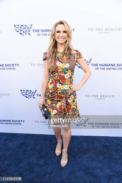 Fiona Gubelmann attends The Humane Society of the United States Los Angeles Gala 2019 at Paramount Studios on May 04 2019 in Hollywood California