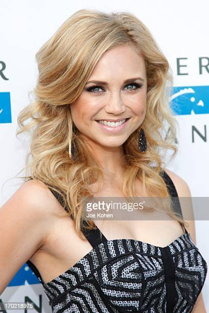 Fiona Gubelmann attends the Mercy For Animals Los Angeles Event Free To Be A Night For Animals on June 8 2013 in Hollywood California