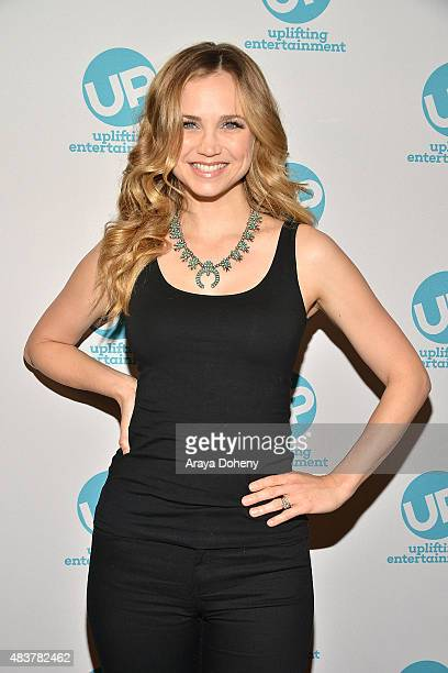 Fiona Gubelmann attends the Ties That Bind red carpet premiere party at Pearl's Liquor Bar on August 12 2015 in Hollywood California