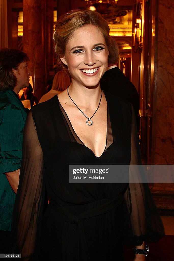 Fiona Hefti attends the Montblanc 'Collection Princesse Grace de
