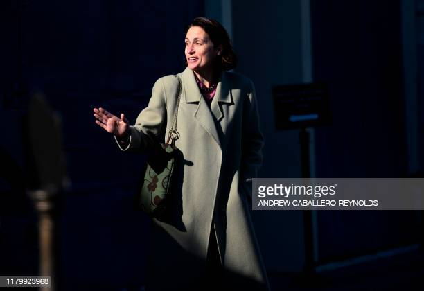 Fiona Hill former deputy assistant to the President and Senior Director for Europe and Russia on the National Security Council staff leaves after...