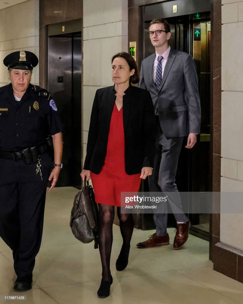 Former Trump Russia Advisor Fiona Hill Testifies Before House On Ukraine Inquiry : News Photo