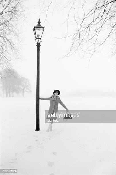 Fiona Maxwell Lewis photographed in London on 4th March 1965. .
