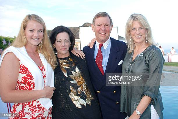 Fiona McFarland KT McFarland Alan Lerner and Liza Lerner attend DELLA FEMINA'S FOURTH OF JULY PARTY at East Hampton on July 7 2007