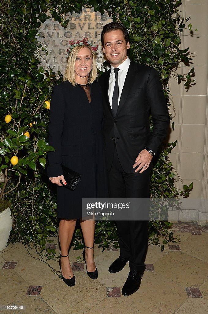 Fiona Paltridge and Daniel Paltridge attend the BVLGARI &