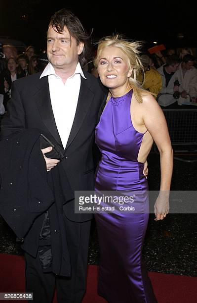 Fiona Phillips and husband Martin Frizell attend the National TV Awards at the Royal Albert Hall Photo by Rune Hellestad/ Corbis Sygma
