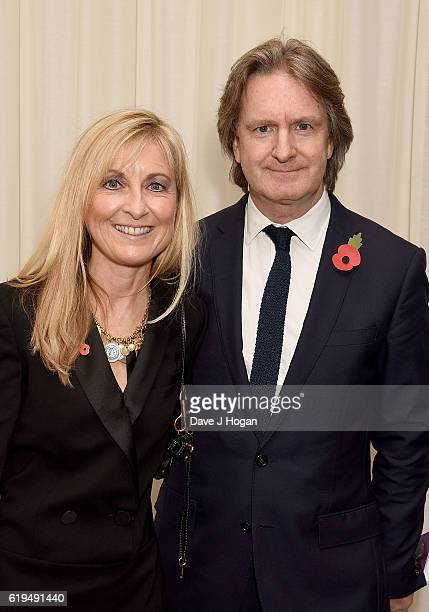 Fiona Phillips and Martin Frizell attend the Daily Mirror Pride of Britain Awards in Partnership with TSB at The Grosvenor House Hotel on October 31...