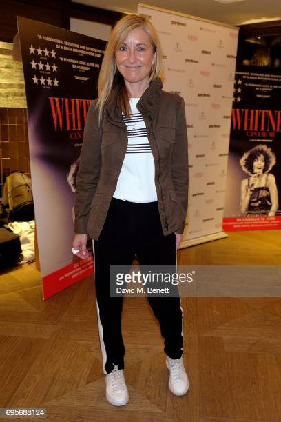 Fiona Phillips attends a special screening of 'Whitney Can I Be Me' at The Mayfair Hotel on June 13 2017 in London England