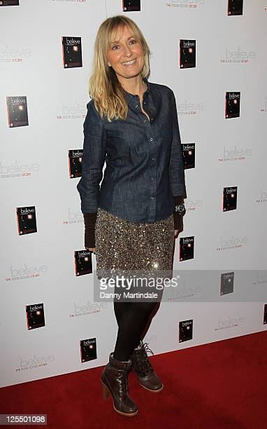 Fiona Phillips attends Eddie Izzard's DVD Premiere at Cineworld Haymarket on November 18 2010 in London England