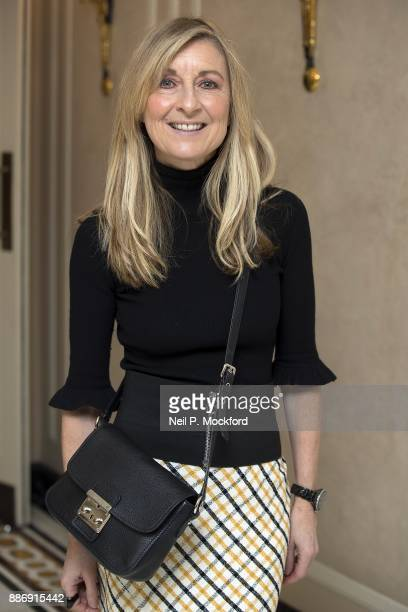 Fiona Phillips attends the Natwest Everywomen Awards at the Dorchester Hotel on December 6 2017 in London England
