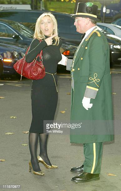 Fiona Phillips during 2005 Closer's Young Heroes Awards at The Dorchester in London Great Britain