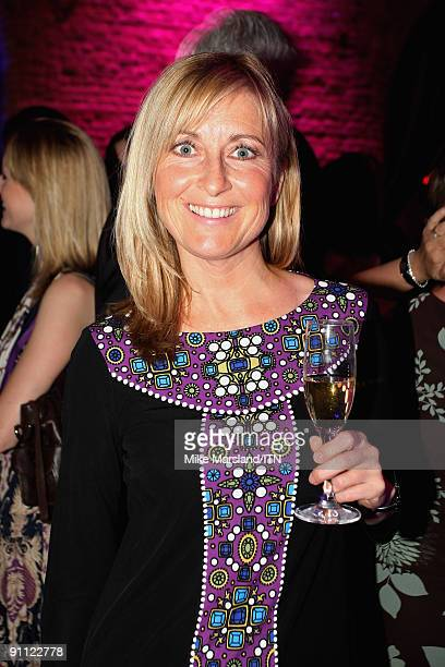 LONDON ENGLAND SEPTEMBER 24 Fiona Phillips poses ahead of the 'Newsroom�s Got Talent' event held in aid of Leonard Cheshire Disability and Helen...
