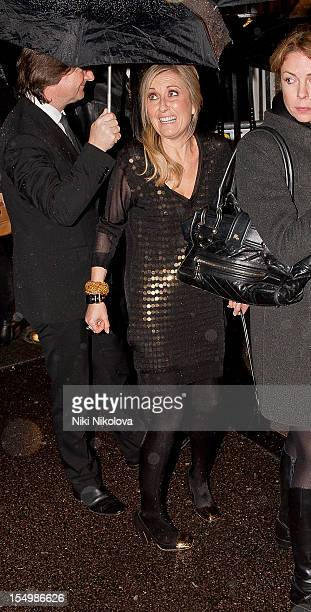 Fiona Phillips sighting on October 29 2012 in London England
