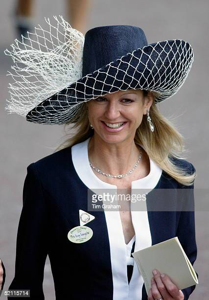 Fiona Sangster Attending The Second Day Of Royal Ascot Races The Society Event Of The Year