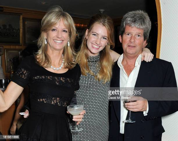 Fiona Sangster Ella May Sangster and Guy Sangster attend Annabel's 50th anniversary celebration featuring a performance by Jamie Cullum on September...
