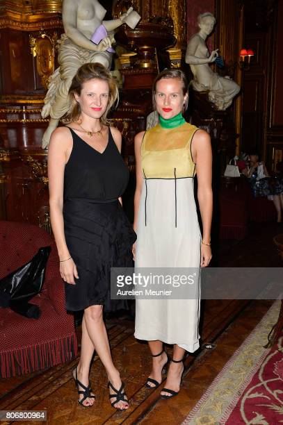 Fiona Scarry and Olympia Scarry attends the dinner to celebrate the launch of Fabrizio Viti Cruise 18 Collection Back In Love Again at Hotel La Pavia...