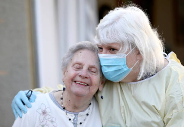 GBR: Nursing Homes In Scotland Welcome Back Visitors