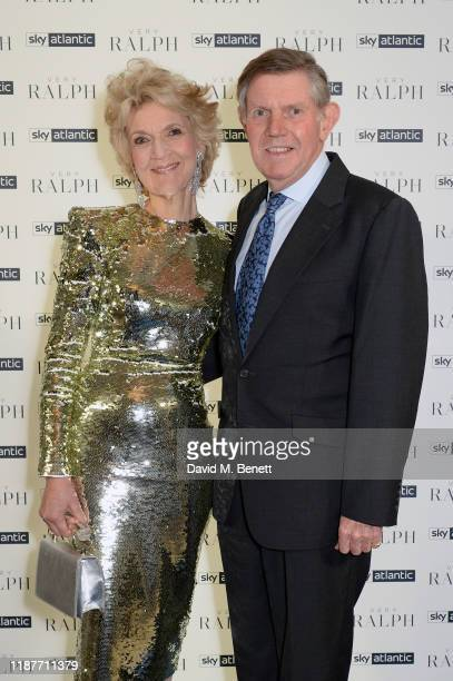 Fiona Shackleton and Ian Shackleton attend the UK Premiere of 'Very Ralph' at Royal Academy of Arts on November 14 2019 in London England