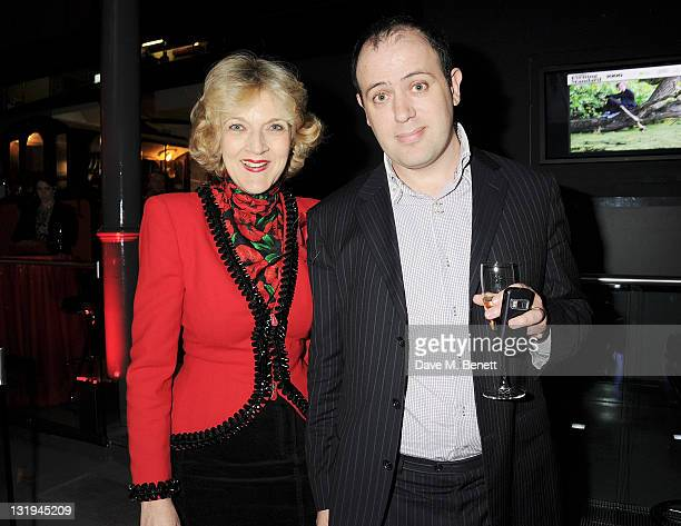 Fiona Shackleton and Oliver Finegold attend 'The London Evening Standard's 1000 Most Influential Londoners' at the London Transport Museum on...