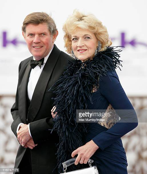 Fiona Shackleton attends the ARK 10th Anniversary Gala Dinner at perk's Field on June 9 2011 in London England