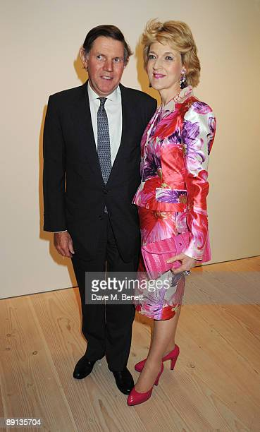 Fiona Shackleton attends the Grand Opening of Bryan Adams 'Hear The World Ambassadors' Exhibition, at the Saatchi Gallery on July 21, 2009 in London,...