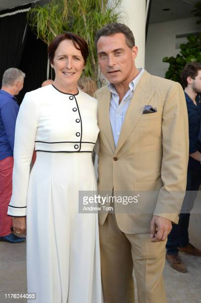 Fiona Shaw and Rufus Sewell attend the BAFTA TV Tea Party on September 21 2019 in Los Angeles California