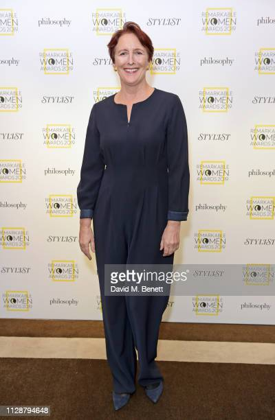 Fiona Shaw attends Stylist's inaugural Remarkable Women Awards in partnership with philosophy at Rosewood London on March 5 2019 in London England