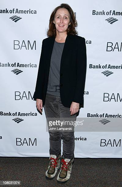Fiona Shaw attends the 'John Gabriel Borkman' after party at the Brooklyn Academy of Music on January 13 2011 in New York City