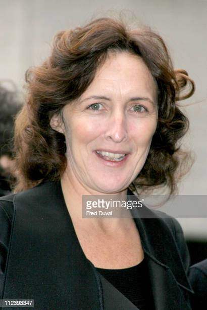 Fiona Shaw during 2004 Evening Standard Theatre Awards at National Theatre in London Great Britain
