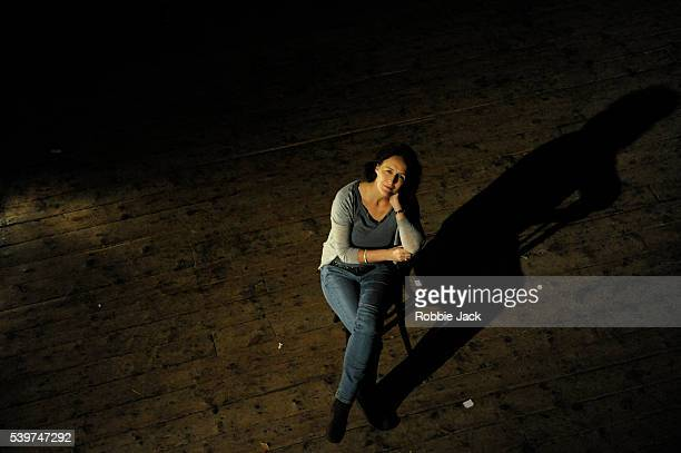 Fiona Shaw performs T S Eliot's 'The Waste Land' directed by Deborah Warner at Wiltons Music Hall in London
