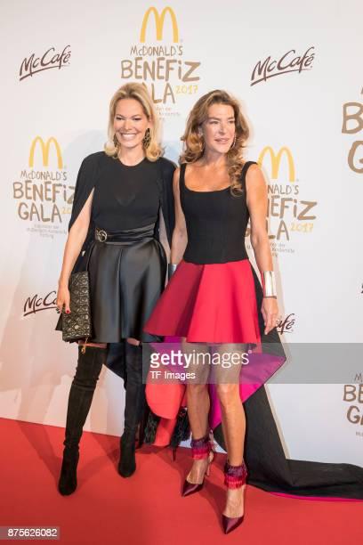 Fiona Swarovski and Alexandra Swarovski attend the McDonald's charity gala at Hotel Bayerischer Hof on November 10, 2017 in Munich, Germany.