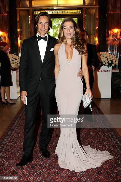 Fiona Swarovski and Karl-Heinz Grasser attend the 8. Russian-German Ball at the Embassy of the Russian Federation on September 4, 2009 in Berlin,...
