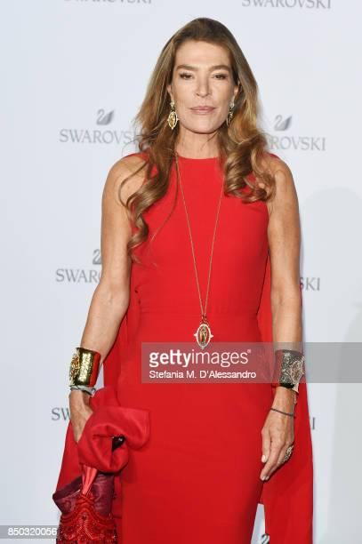 Fiona Swarovski attends Swarovski Crystal Wonderland Party on September 20 2017 in Milan Italy