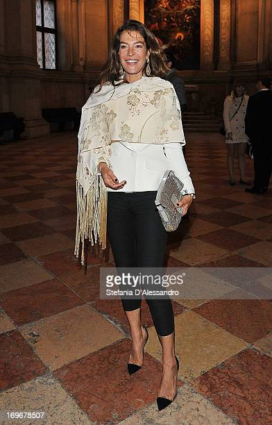 Fiona Swarovski attends Swarovski Foundation and John Pawson Perspectives Cocktail Party at Basilica di San Giorgio on May 30 2013 in Venice Italy