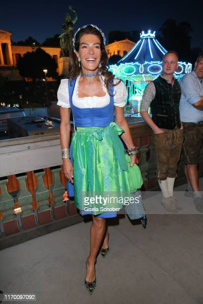 Fiona Swarovski during the Oktoberfest 2019 opening at Theresienwiese on September 21, 2019 in Munich, Germany.