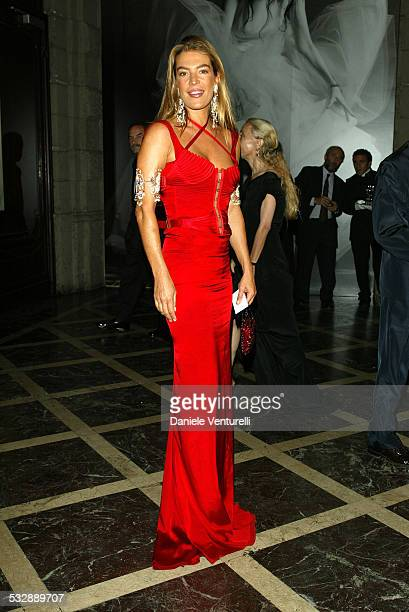 Fiona Swarovski during Vogue Party for Bruce Weber in Milan Italy