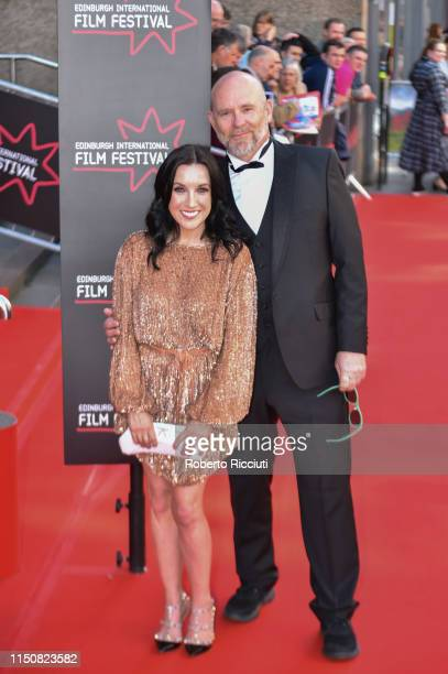Fiona Ufton and Jason Connery attend the European premiere of Boyz In The Wood and opening night gala of the 73rd Edinburgh International Film...