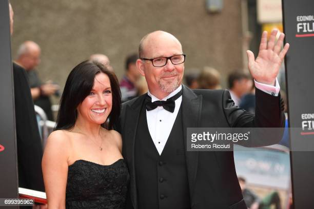 Fiona Ufton and Jason Connery attend the UK premiere of God's Own Country and opening gala of the 71th Edinburgh International Film Festival at...