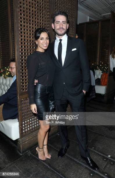 Fiona Wade and Simon Cotton attend the afterparty for The Unseen Premiere at Jewel on November 14 2017 in London England
