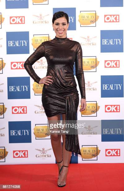 Fiona Wade attends The Beauty Awards at Tower of London on November 28 2017 in London England