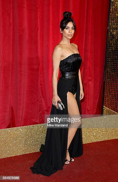 Fiona Wade attends the British Soap Awards 2016 at Hackney Empire on May 28 2016 in London England