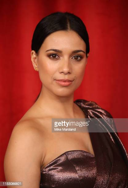 Fiona Wade attends the British Soap Awards at The Lowry Theatre on June 01 2019 in Manchester England