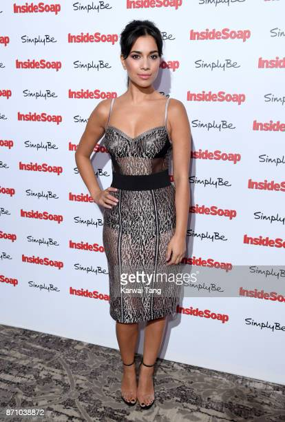 Fiona Wade attends the Inside Soap Awards at The Hippodrome on November 6 2017 in London England