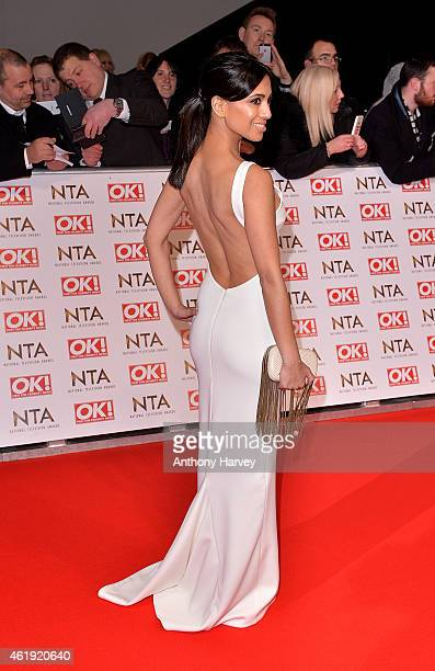 Fiona Wade attends the National Television Awards at 02 Arena on January 21 2015 in London England