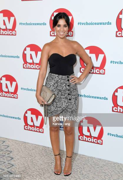 Fiona Wade attends the TV Choice Awards at The Dorchester on September 10 2018 in London England