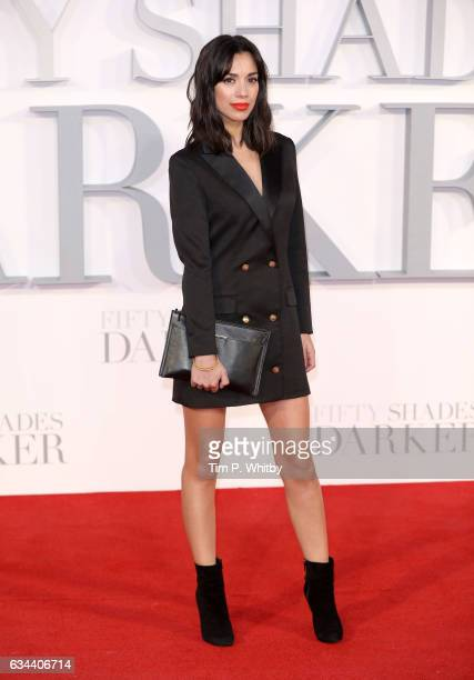 Fiona Wade attends the UK Premiere of 'Fifty Shades Darker' at the Odeon Leicester Square on February 9 2017 in London United Kingdom