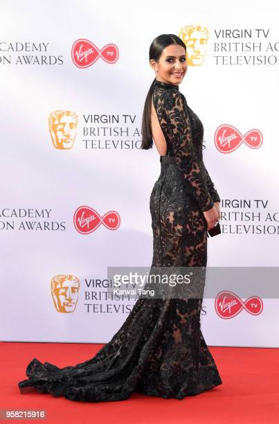 Fiona Wade attends the Virgin TV British Academy Television Awards at The Royal Festival Hall on May 13 2018 in London England