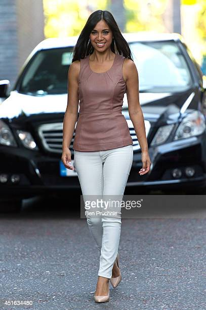 Fiona Wade sighted at ITV Studios on July 3 2014 in London England