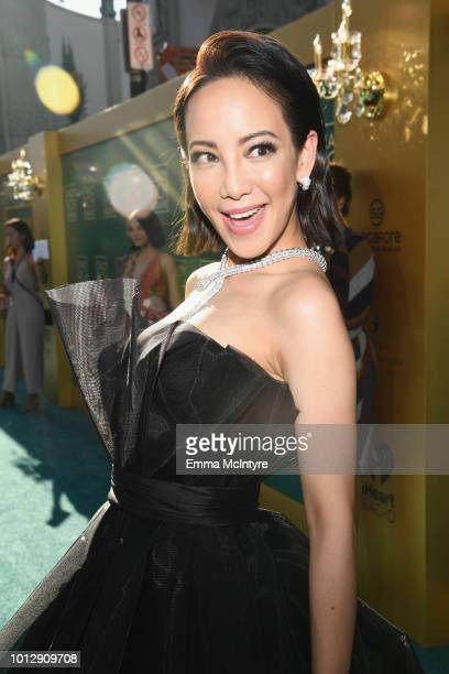 Fiona Xie arrives at Warner Bros Pictures' 'Crazy Rich Asians' Premiere at TCL Chinese Theatre IMAX on August 7 2018 in Hollywood California