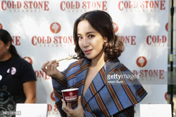 Fiona Xie attends HBO LUXURY LOUNGE Presented By Obliphica Professional Day 1 on January 4 2019 in Beverly Hills California